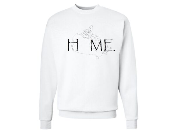 Home Map Sweatshirt