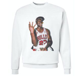 Michael Jordan 3Peat Sweatshirt