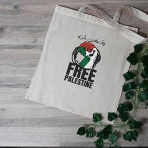 Free Palestine Tote Bag